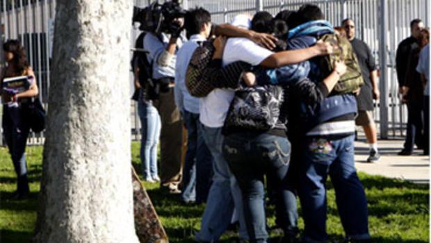 L.A. School Shooting Victim Awakens - CBS News
