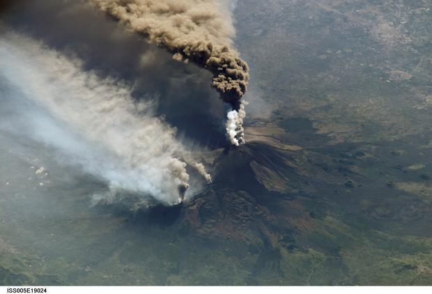 Mt. Etna Blows its Top - Again