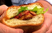 Katie Lee's Chicken Parm Sandwich