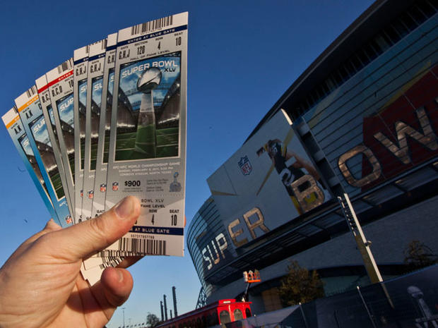 Super Bowl XLV tickets