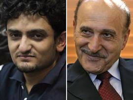 Wael Ghonim and Omar Suleiman