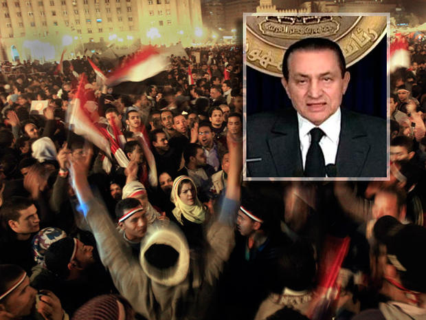Mubarak  Protests