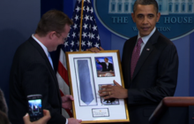 Goodbye Gibbs: Obama Returns Borrowed Tie
