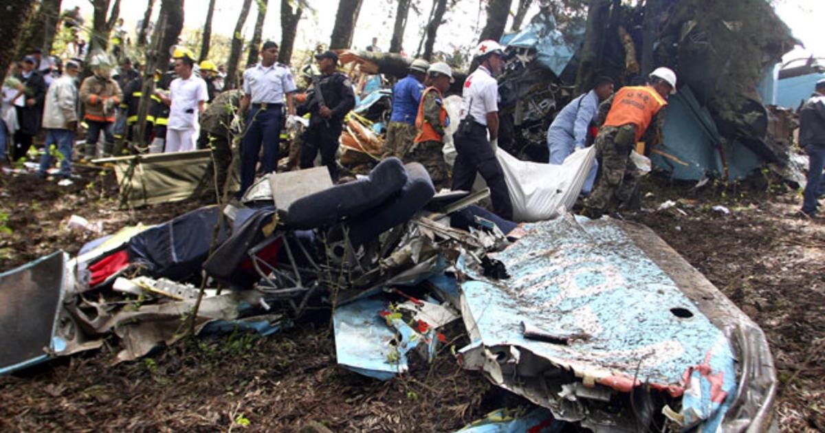 Honduras Plane Crash Kills 14 Gov T Official Cbs News