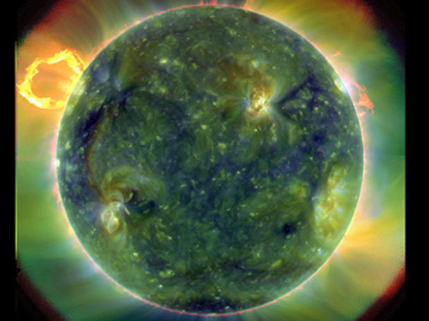 The sun as you've never seen it