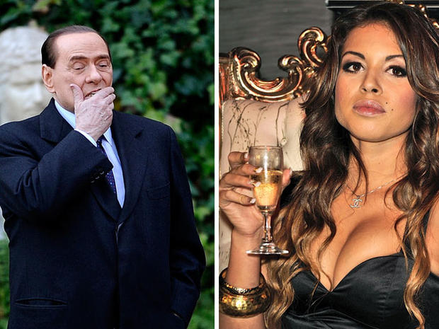 Karima el Mahrough (PICTURES): Silvio Berlusconi Indicted on Prostitution, Abuse of Power Charges