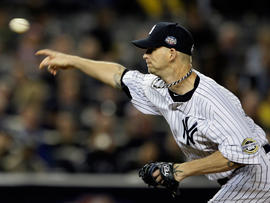 A.J. Burnett pitches