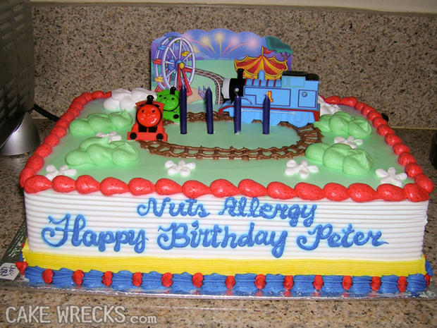 Worst kids birthday cakes