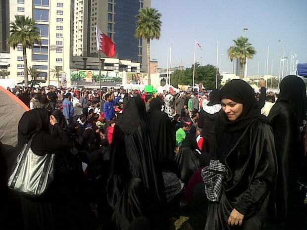 Protests in and near Pearl Square, Bahrain