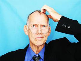 alzheimer's, head, scratch, dementia, man, stock, 4x3