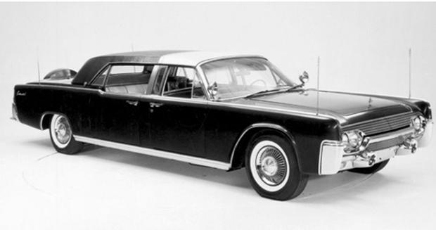 1961 Lincoln Continental Ss 100 X John F Kennedy Presidential