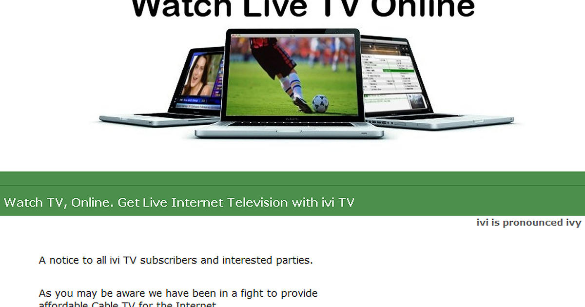 Court bars streaming of TV programming online - CBS News