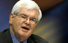 Newt Gingrich confronted on affair