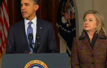 Obama denounces attacks on Libyan protesters