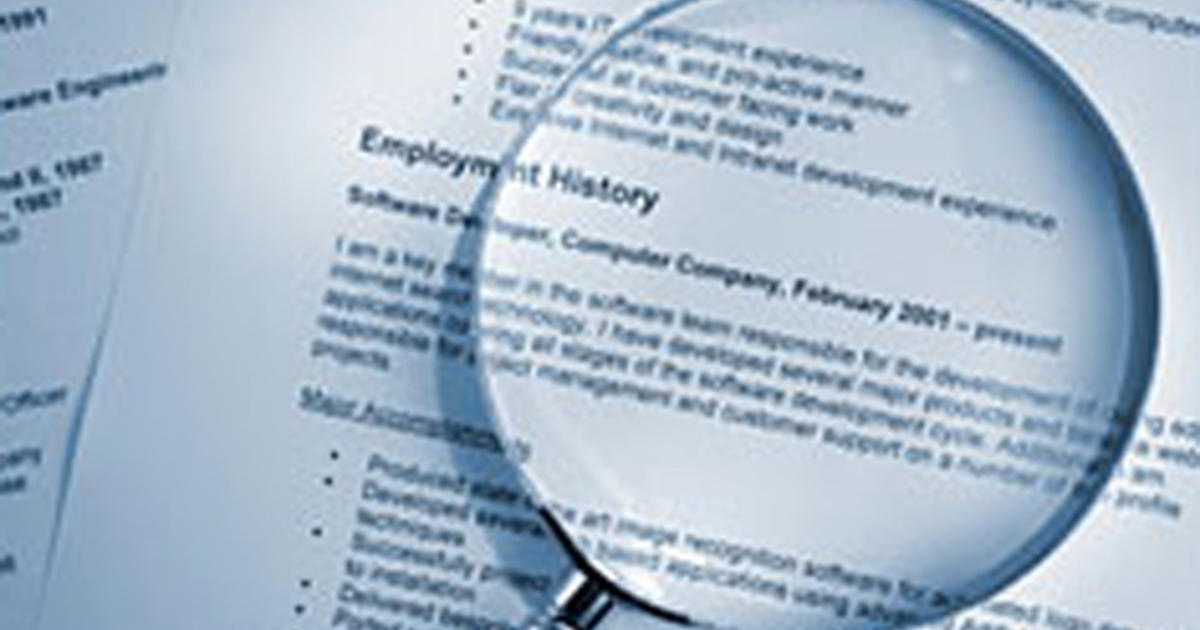 Reinvent your resume at any age - CBS News