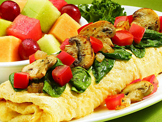 7 Simple Fit Veggie Omelette Ihop Healthiest Fast Food Breakfasts 10 Good Picks Cbs News