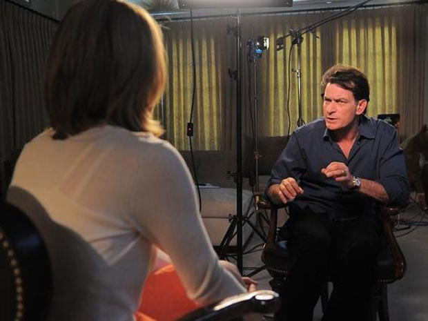 """Charlie Sheen in 20/20 interview: """"I'm not normal"""""""