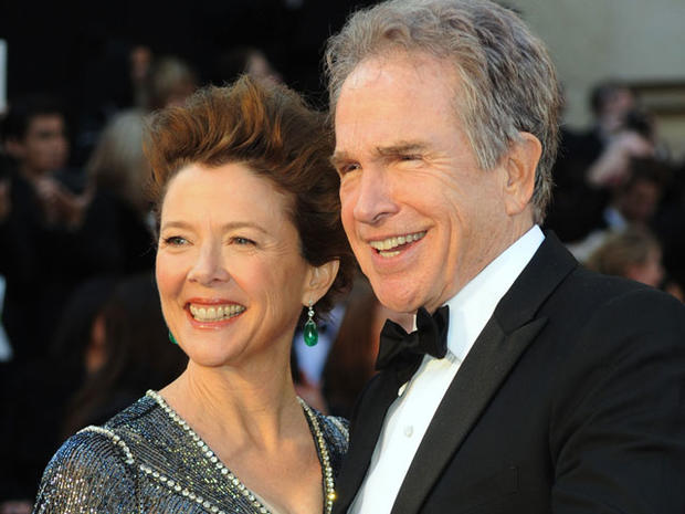 Actress Annette Bening (L) and actor/filmmaker Warren Beatty arrive at the 83rd Annual Academy Awards held at the Kodak Theatre on February 27, 2011 in Hollywood, California. (Photo by Frazer Harrison/Getty Images)