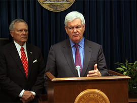 Gingrich Press Conference