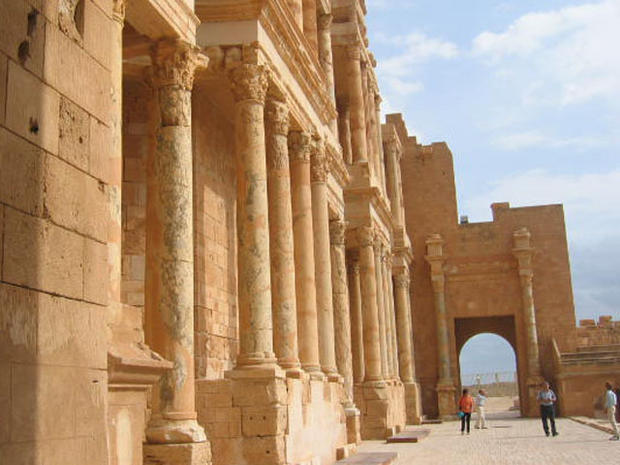 Libya's vulnerable antiquities