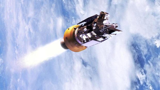 nasa launch mishap satellite crashes into ocean cbs news