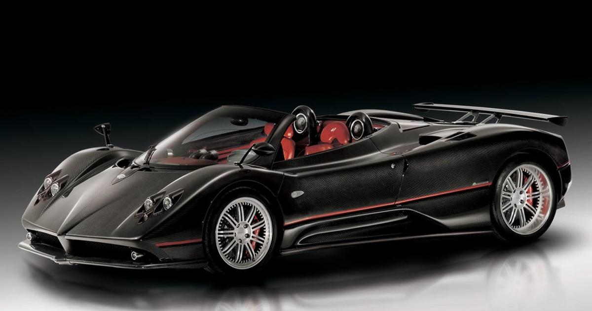 Pagani Zonda F Roadster How Much World S 9 Most Ridiculously Expensive Cars Cbs News