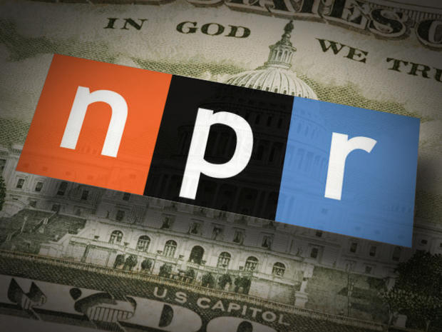NPR logo over 50 dollar bill
