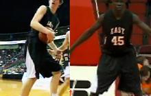 7-foot-1, 6-foot-11 high school basketball players