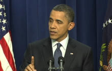 Obama: We're tightening noose on Libya