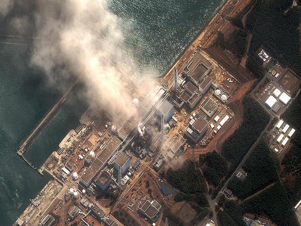 The Fukushima Dai-ichi nuclear plant in northeast Japan