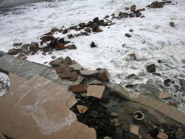 Seawalls versus the deluge