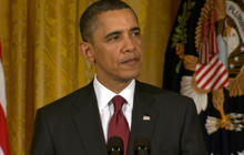 """Obama - U.N. resolution """"enforced through military action"""" if necessary"""