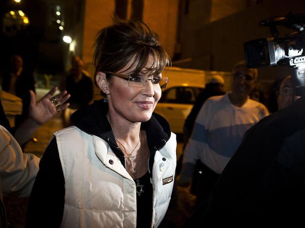 Sarah Palin in Israel