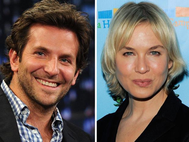 Actor Bradley Cooper and Actress Renee Zellweger.