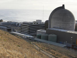 A nuclear reactor at Diablo Canyon Power Plant