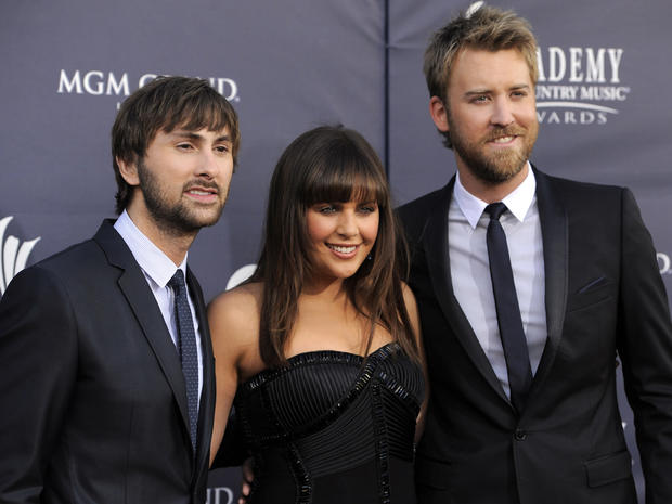 ACM Awards red carpet
