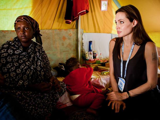 Angelina Jolie in Tunisia