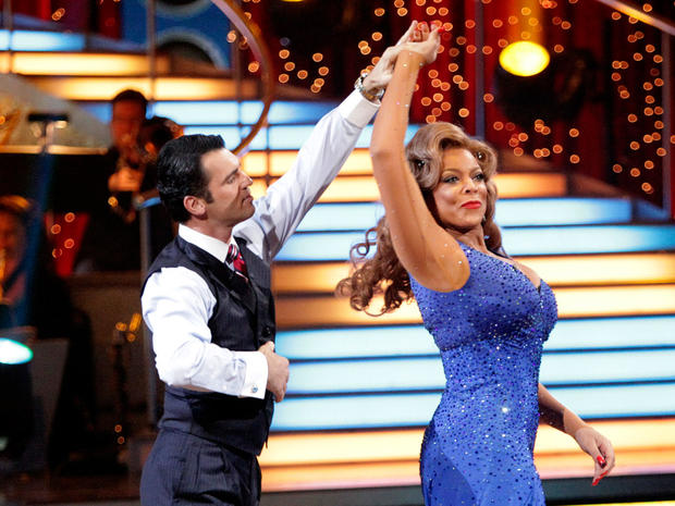 "Wendy Williams and Tony Dovolani perform on ""Dancing with the Stars,"" April 4, 2011, in Los Angeles."