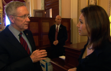 "Harry Reid: Dems ""not budging"" on Planned Parenthood funding"