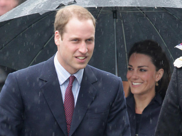 Royal couple's last pre-wedding trip