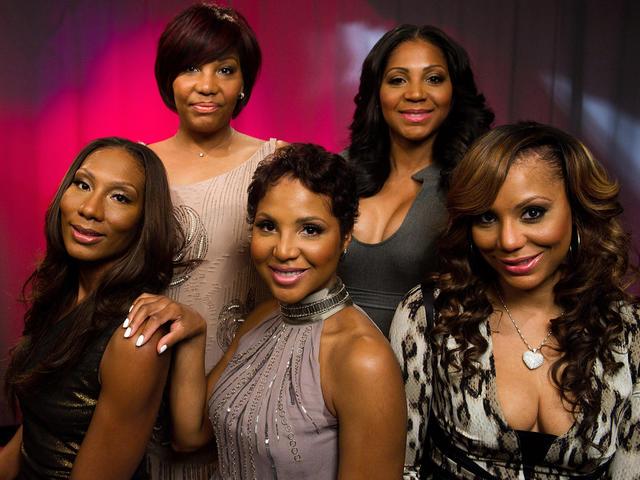Toni Braxton And Sisters Showcase Braxton Family Values Cbs News