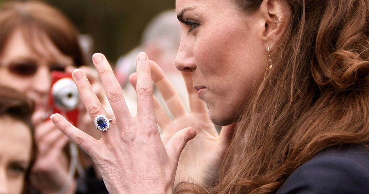 Kate Middleton having her engagement ring resized CBS News