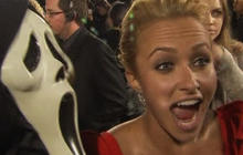What scared Hayden Panettiere on Scream 4 set