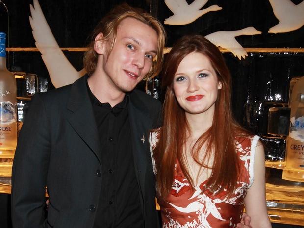 Jamie Campbell Bower engaged to Bonnie Wright - CBS News