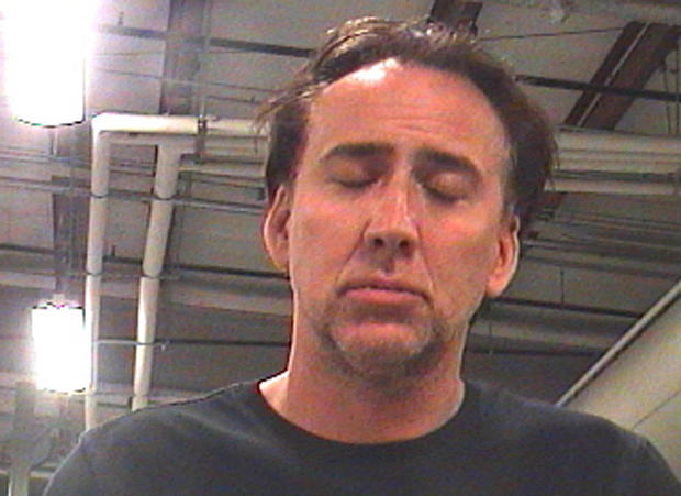 Nicolas Cage (Mug Shot): Actor arrested in New Orleans after arguing with wife, say cops