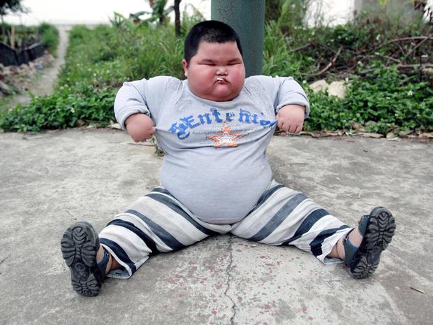 China's 136-pound 4-year-old