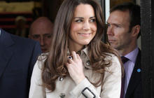 Notebook: Kate Middleton's wedding dress