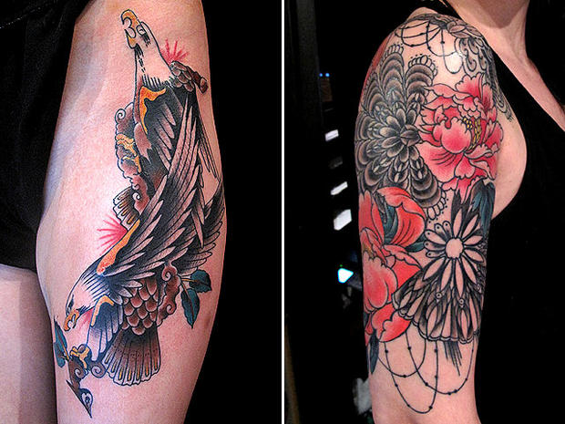 12 celebrity tattoo artists - Photo 1 - Pictures - CBS News