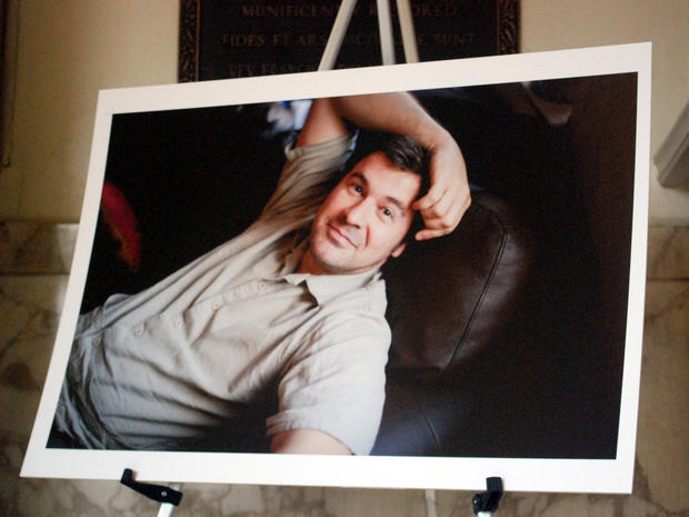 Chris Hondros memorial service