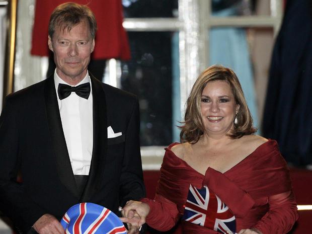 Foreign royals descend upon London